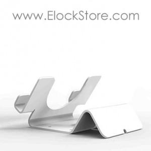 Support tablette chevalet universel aluminium - Blanc - Seul - Maclocks UTH WB