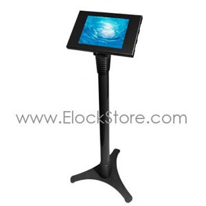 Stand Galaxy Tab3 Tab4 - Ajustable et Kiosque Noir - Maclocks 147B300GEB Elockstore REF00551
