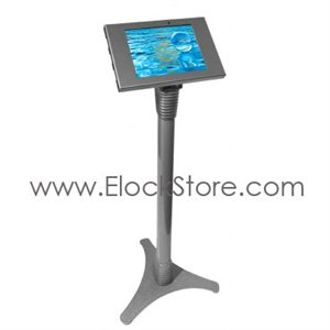 Stand Galaxy Tab3  Tab4 - Ajustable et Kiosque - Argent - Maclocks 147S300GES Elockstore REF00552
