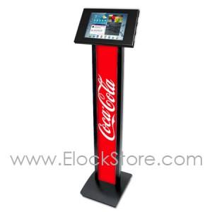 Stand Galaxy Tab3 Tab4 - BrandMe et kiosque - Noir - Maclocks 140B300GEB Elockstore REF00554