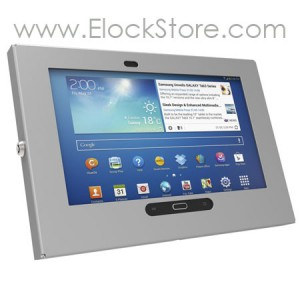Coque Galaxy Tab3 Tab4 - Argent - Maclocks 300GES