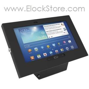 Kiosque Alu Galaxy tab3 Tab4 10.1 - Square Noir - Maclocks 101B300GEB