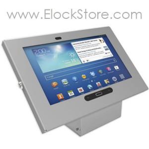 Kiosque Alu Galaxy tab3 Tab4 10.1 - Argent - Maclocks 101S300GES