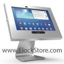 Pied rotatif 360 Swivel et kiosque Galaxy Tab3 - Argent - Maclocks