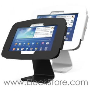 Kiosque Space galaxy Tab Note 10.1 - Rotatif 360 - Galaxyenclosure 303W400GEW