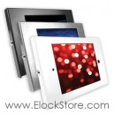 Coque antivol iPad 2 3 4 Air Air2 aluminium Kiosque Square - sans support - Maclocks 202ENB Elockstore REF00294 1