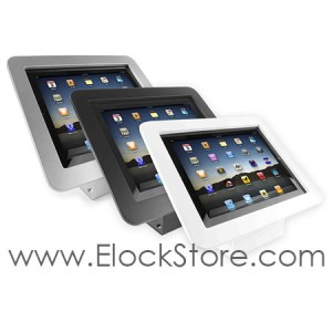 Coque antivol iPad 1 2 3 4 5 Air Air2 - Executive avec Support fixe - Maclocks 101W213EXEN