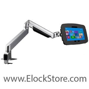 Bras articulé télescopique avec kiosque space pour Surface pro 2 – Maclocks Reach arm