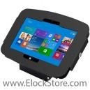 Coque Kiosque antivol Space pour Microsoft Surface 2, Pro et Pro 2 - Noir - avec support fixe - Surfaceenclosure ElockStore