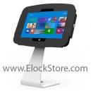 """Pied """"Swan"""" et Kiosque Space Surface 2 Pro et Pro2 - Noir - avec support fixe - Surfaceenclosure"""
