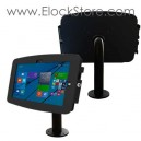 Kiosque Space Microsoft Surface Pro3 - avec pied Pole - Noir - Maclocks Surfaceenclosures