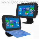 Pied 360 et Kiosque Space pour Microsoft Surface Pro3 - Noir - Maclocks - 1