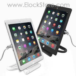 Coque iPad Air Air2 avec pied renforcé et cable antivol Maclocks