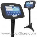 Borne Galaxy tab S  - Pied Ajustable et Kiosque Space Tab S 10 pouces noir - Compulocks 147BS105GEB ElockStore REF00395