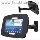 Borne murale Galaxy Tab S 10.5 - Kiosque Space et Bras articule Hero - Noir - Maclocks 827BS105GEB ElockStore REF00411