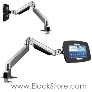 Bras articulé télescopique Galaxy tab S 10.5 - kiosque Space Reacharm - Maclocks 660REACHS105GEB ElockStore REF00413