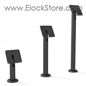 Pied tablette passe cable de table RISE Noir - Pied seul compatible Vesa - Maclocks RISE TCDP01 Elockstore REF00414