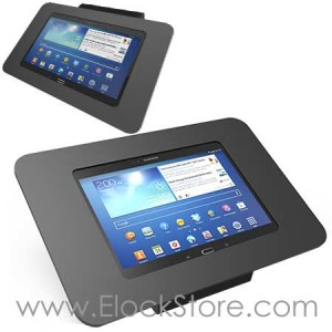 Coque antivol Galaxy Tab S2 9.7 - Noir avec support Fixe - Kiosk ROKKU TabS2 - Maclocks 101B260ROKB ElockStore REF00491
