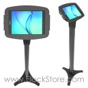 Borne totem Galaxy tab A 9.7 - Pied Ajustable et Kiosque Space - Noir - Maclocks 147B697AGEB ElockStore REF00406