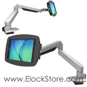 Bras articulé télescopique Galaxy tab A 9.7 - kiosque Space Reacharm - Maclocks 660REACH697AGEB ElockStore REF00405
