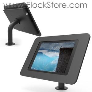 Coque antivol iPad Air 1/2 10.1 - kiosk Rokku et pied Pole - Noir - Maclocks Galaxyenclosure 920B260ROKB REF00807