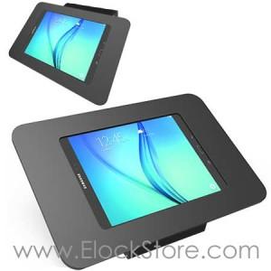 Coque antivol Galaxy Tab A 9.7 - Noir avec support Fixe - Kiosk ROKKU TabS2 - Maclocks 101B260ROKB ElockStore REF00821