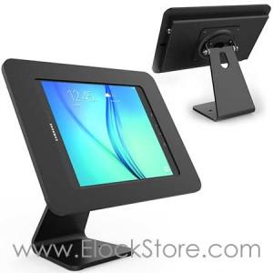 Coque antivol Galaxy Tab A 9.7 avec pied rotatif - Rokku tabA 360 Noir - Compulocks 303B260ROKB ElockStore REF00822