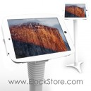 Coque antivol iPad Pro et Pied borne au sol - Kiosk Space Pied Ajustable - Blanc - Maclocks 147W290SENW ElockStore REF00460