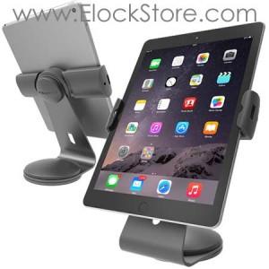 Support tablette universel Cling 2.0 - Borne de table Argent - Compulocks UCLGSTDS ElockStore REF00881