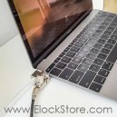 Antivol MacBook 12 pouces - Maclocks MB12BRWEDGE