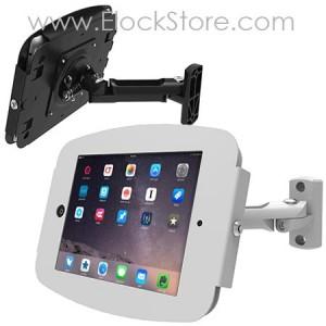 Bras articulé iPad rotatif et coque Space - Maclocks 827W224SENW 827B224SENB