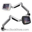 Bras articulé télescopique et kiosque space iPad 2 3 4 Air Pro 9.7 – Maclocks Reach arm 660REACH224SENB 660REACH224SENW