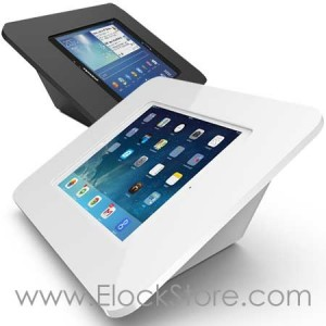 Borne Capsule tablette 9.7 pouces, borne mural ou comptoir, 340W260ROKW 340B260ROKB