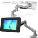 Bras télescopique tablette 9.7 pouces et coque antivol Rokku 660REACH260ROKW 660REACH260ROKB