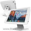 Coque antivol iPad Pro et Pied rotatif 360 - kiosk Space aluminum - Blanc - Maclocks 303W290SENW ElockStore REF00453