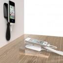 Présentoir Smartphone mural avec alarme chargeur Neolock S2131W
