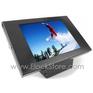 Coque antivol Galaxy Tab 1/2 Note10.1 - Kiosque Alu Square - Noir - Maclocks 101B205GEB ElockStore REF00101