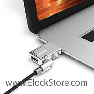 Câble antivol compatible Dell  de technologie Wedge - Noir - Compulocks WDG08 ElockStore REF00192