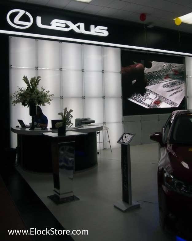 Lexus - Pied borne iPad Air Bandme Maclocks ElockStore