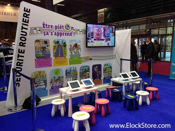 Police française - Coque executive iPad Air Maclocks ElockStore