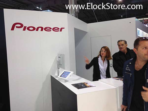 Pioneer - Kiosque square antivol iPad Air Maclocks ElockStore