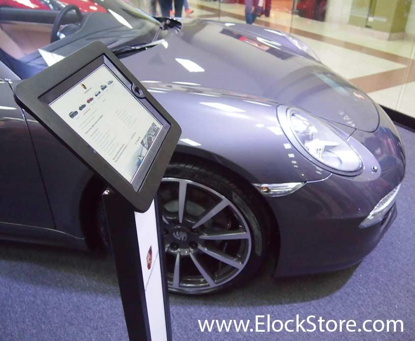Porche - Pied borne iPad Air BranMe Noir Maclocks ElockStore