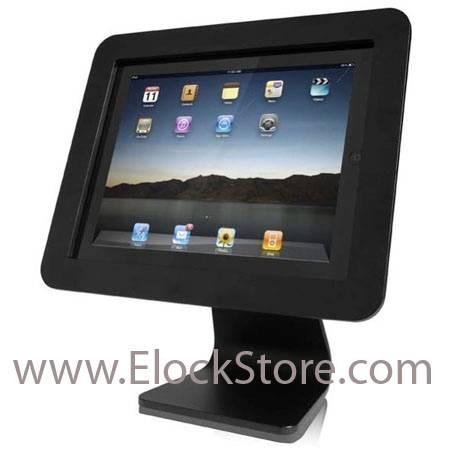 stand tablette alu et pied rotatif 360 maclocks compulocks ipadenclosure ipadposstand elockstore