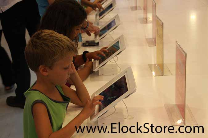 antivol iPad elockstore chez cellcom