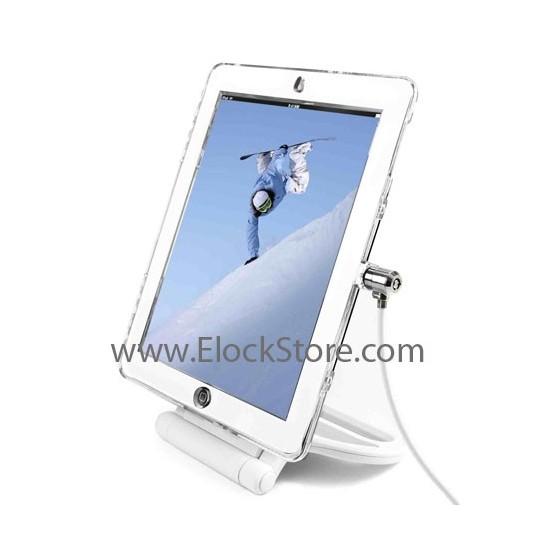 Coque iPad avec pied renforcé et cable antivol Maclocks