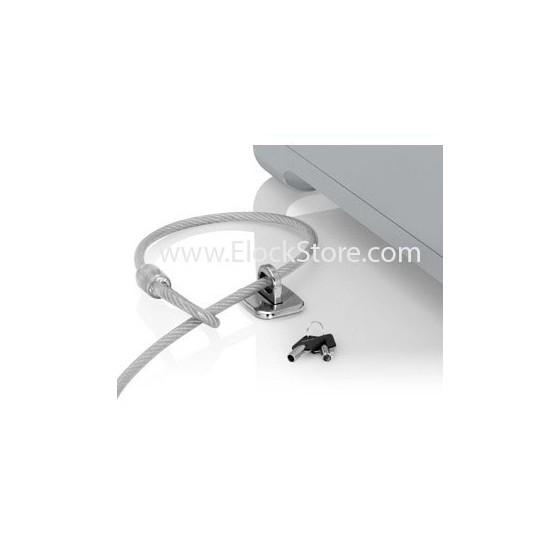 Platine antivol universelle wedge 2 - Argent - câble Wedge - Maclocks TZ58