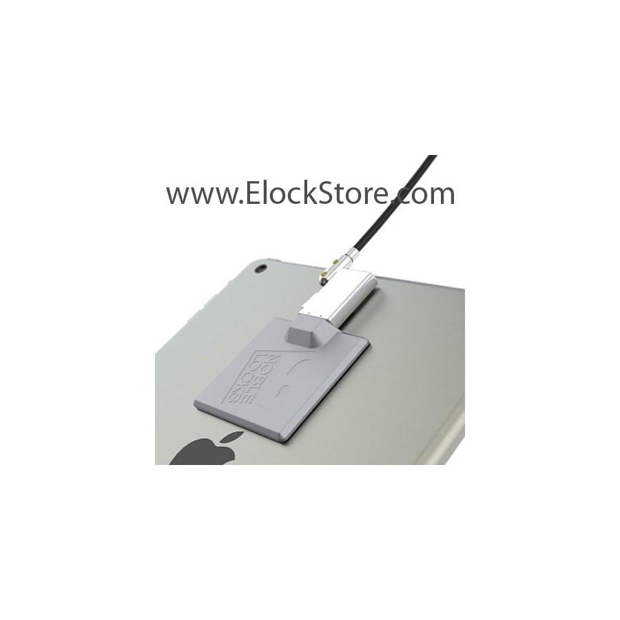 Platine antivol tablette et smartphone universelle wedge 2 - Argent - câble Wedge - Maclocks elockstore TZ58 compulocks