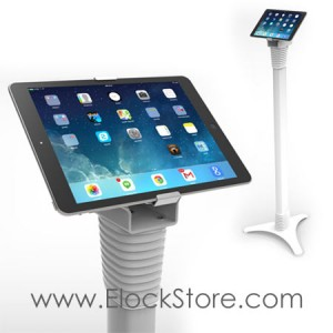 Borne tablette universelle - Pied totem Ajustable Cling - Maclocks 147WUCLGVWMW