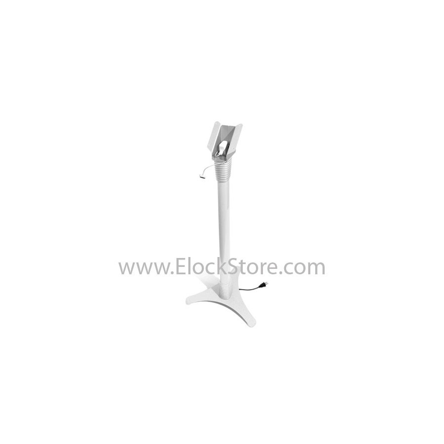 Borne tablette universelle - Pied totem Ajustable Cling On - Blanc - Maclocks 147WCLG10 ElockStore REF00378 6