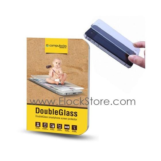 Film ecran tactile et smartphone Ultra Résistante - Compulocks DoubleGlass – DGSIPDA ElockStore REF00382